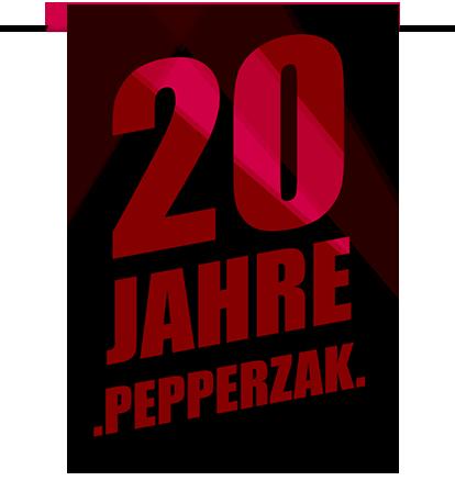 20 Jahre Pepperzak