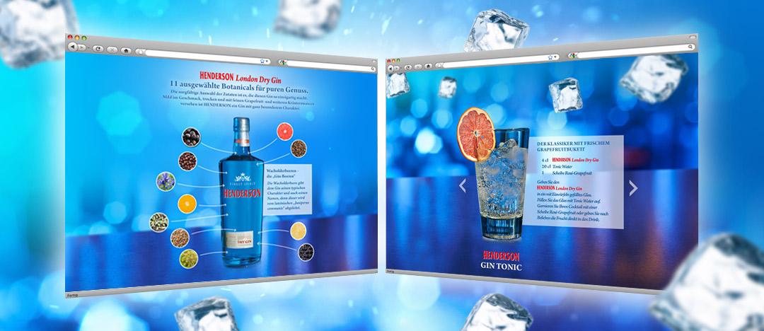 Informationen zu den 11 ausgewählten Botanicals von Henderson London Dry Gin und Cocktailrezept Henderson Tonic
