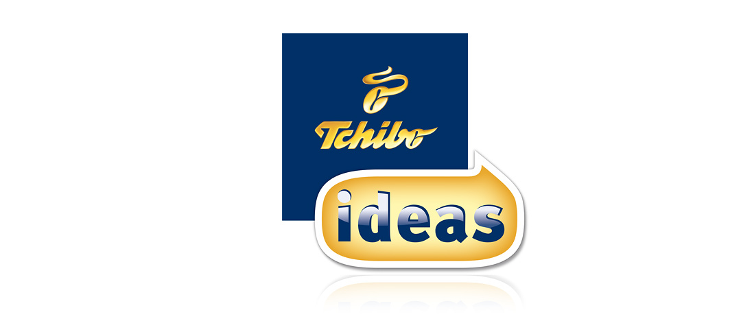 "The logo of the crowd-sourcing campaign ""Tchibo ideas"""