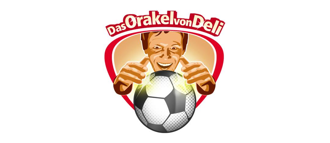 """Das Key-Visual """"Das Orakel von Deli"""" zur integrierten LEH-Promotion von Deli Reform zur Fußball-WM 2006"""