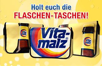 Vitamalz Facebook-Gewinnspiel mit Verlosung von exklusiven Vitamalz-Taschen