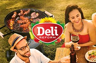 """Die """"Happy BBQ""""-Promotion zur Grillsaison im Frühjahr 2016 von Deli Reform"""
