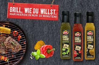 """Die """"Grill wie du willst""""-Promotion zur Produkteinführung von Deli Reform Grill-Marinaden"""