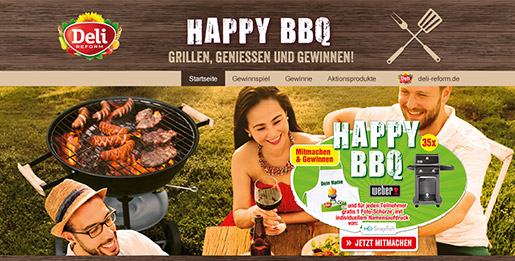 HAPPY BBQ macht Grill-Fans glücklich